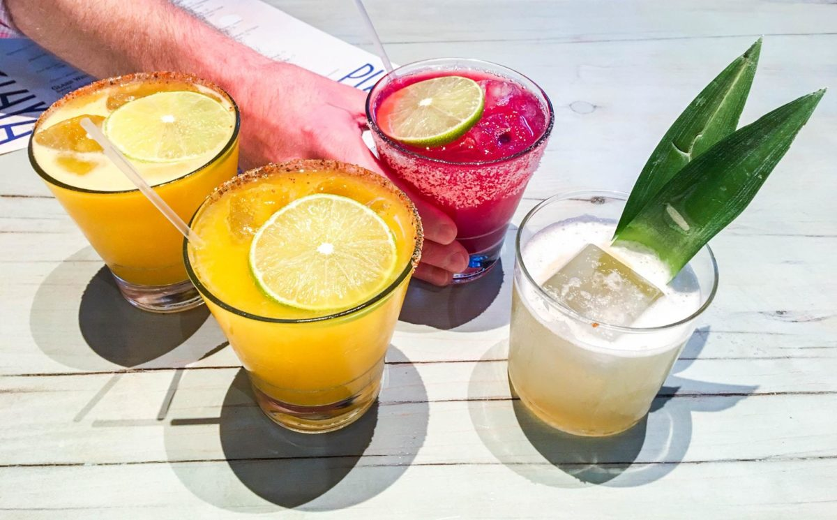 seasonal flavored margaritas